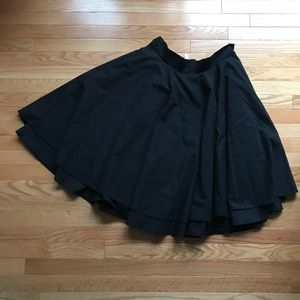 modcloth double full circle skirt